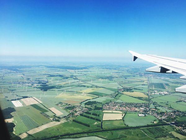 Berlin Landing Landing Stage Windenergy Windpower Windpowerplant Windenergyplant WindGenerator Flight Flight ✈ Flightview FlightAttendant Lufthansa