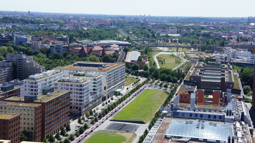 City High Angle View Cityscape Aerial View Architecture Building Exterior Travel Destinations Built Structure Outdoors No People Day Urban Skyline Berliner Ansichten Berlin Photography Berlin Berlin Street Markets