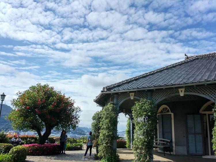 at Glover Garden, Nagasaki, Japan. Traveling EyeEm Best Shots Enjoying Life Clouds