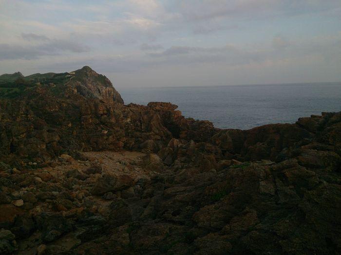 Suances cliff