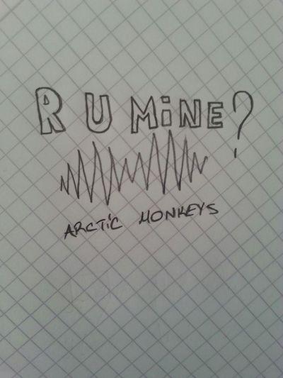 Arctic Monkeys Arcticmonkeys R U Mine? Listen To Arctic Monkeys