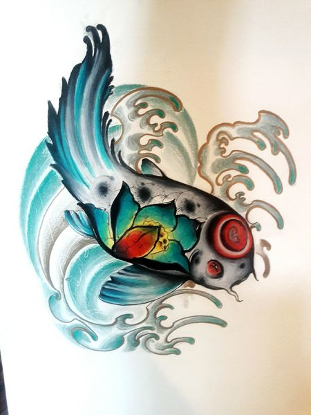Koifish Koifishtattoo Tattoo Tattoos Tatttoo Artist Tattttted ;) Tattoo Design Tatoo Art First Eyeem Photo