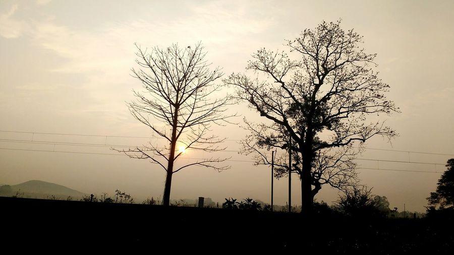 Morning Sunset Muniguda Rayagada Odisha