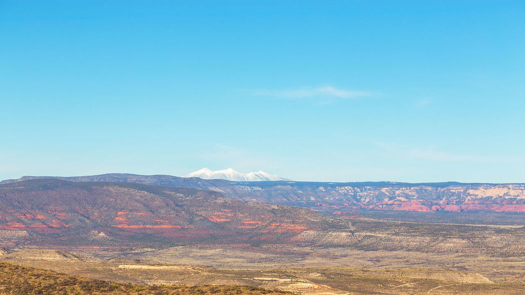 Sky Blue Clear Sky Day No People Outdoors Nature Scenics Beauty In Nature AZ San Francisco Peaks Jerome