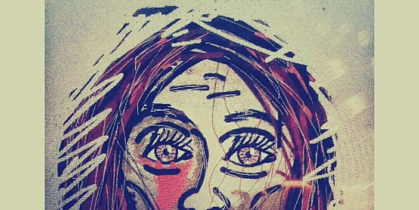 Draw Drawing Woman Arte Art Olho Eye