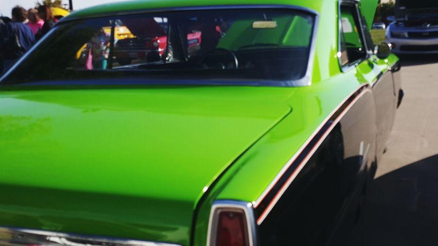 Chevy Chevrolet NOVA Classic Car Auto Show Green