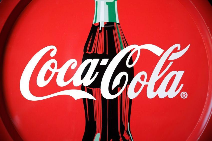 coca cola Global Business Leader Industry Studio Shot Cocacola Coca Cola Coca-cola Brand Famous Editorial  Red Red Color Sign Symbol America American USA United States Icon Design Drink Soda Trademark Bottle Brand Name Fame American Culture Red Text