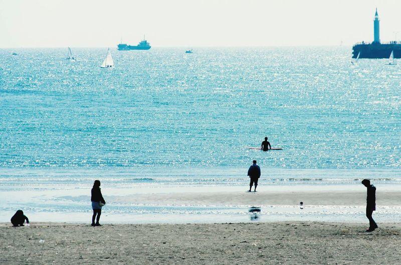 People Story Ocean Silhouette
