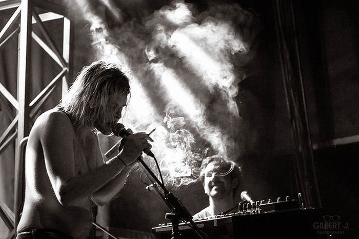 For The Love Of Music Ariel Pink Black & White Gilbert J. Photography Smoke