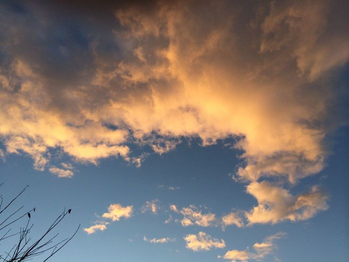 Morning Glow Clouds Sky Nature 自然 雲 冬 空