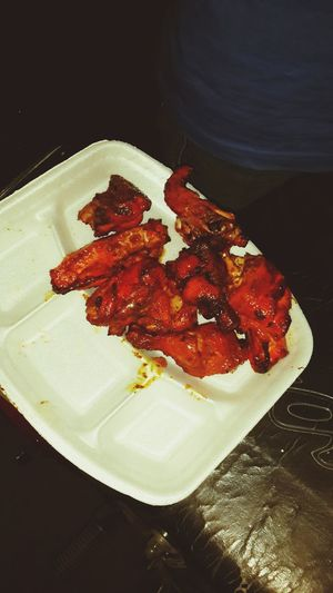 Enjoying Street food