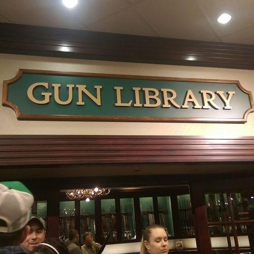 Just learnt a thang er 2 at the gun library. The only library I go to.lol jk Cabelas Redneck