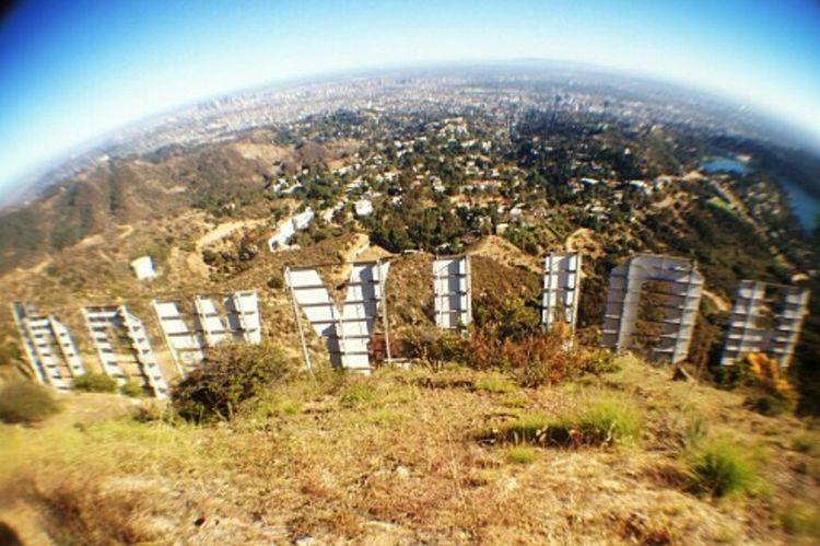 Hollywood Los Angeles, California Fish Eye