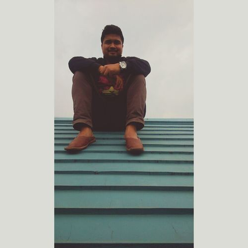 A lazy afternoon Afternoon Rooftops SonyXperiaSp Jowai Meghalaya