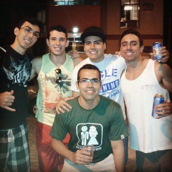 Noivado do Parceiro Delson! Friends Swag Night Cariocagram