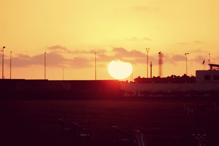 Mohammedia Beach Sunset