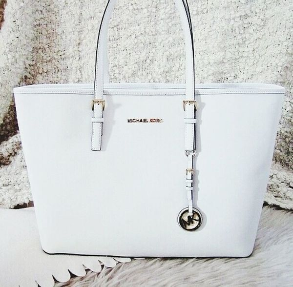 Michaelkors White Sac Bag