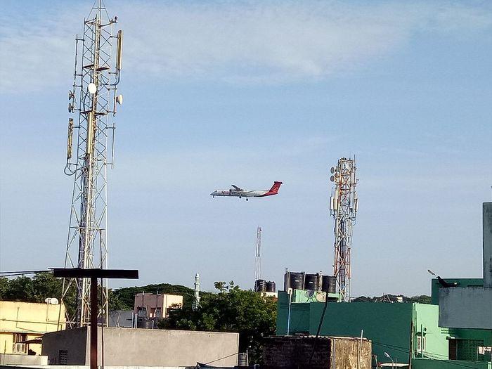 Taking Photos Alandur Chennai Flight