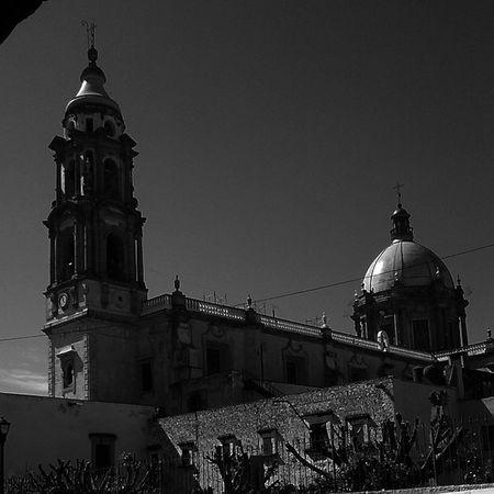 Dark Sky... Templo Del Carmen MyPhotography Blackandwhite CelayaGto Mexico like Arquitectura