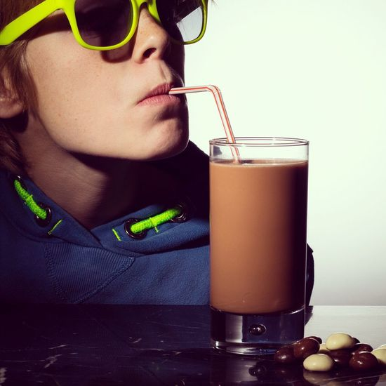 Drinking Straw Drinking Glass Drink Drinking Sunglasses Refreshment Food And Drink Young Adult Table Cocktail Adult One Person Indoors  Chocolate Milk Drinking Cocoa Chocolatemilk Cool Drink Pepernoten
