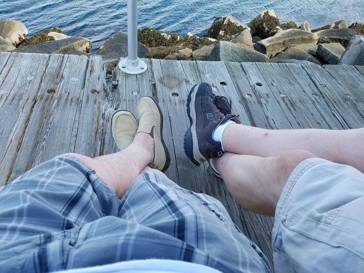 Feetselfie Shoes Shore Outside Good Times Relaxing