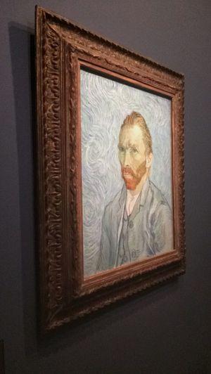 Self- portrait of Van Gogh 👀🎨 Paris Museum Of Art Orsay