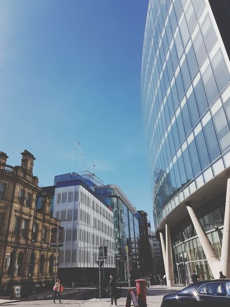 Manchester, 25th March 2017 City Architecture Outdoors Day No People Buildings Manchester Uk England