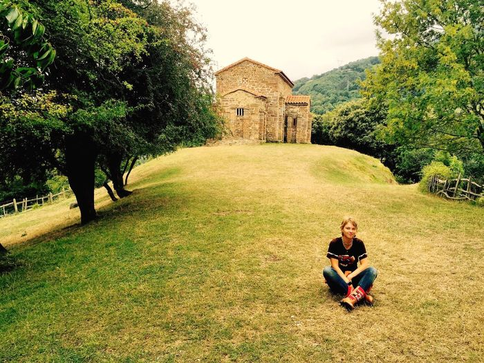 Praying Asturias Fairytale  OpenEdit Eyem Best Shot - My World Historical Building Church Historical Monuments SPAIN Celtic