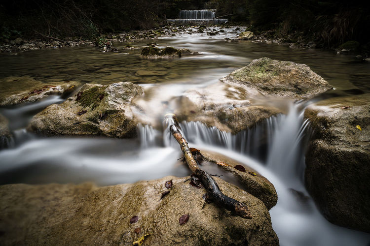 Long Exposure of the Jenbachtaler Waterfalls Awesome Beauty In Nature Blurred Motion Day Flowing Water Freedom Freshness Hiking Landscape Landscape_Collection Landscape_photography Long Exposure Longexposure Motion Nature No People Outdoors Purity Scenics Stream - Flowing Water Tranquility Tree Wanderlust Water Waterfall