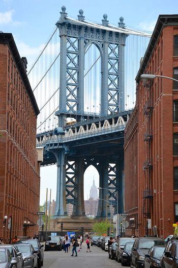 Architecture Backgrounds Bridge Bridges Building Built Structure City Empire State Building Manhattan Manhattan Bridge Outdoors