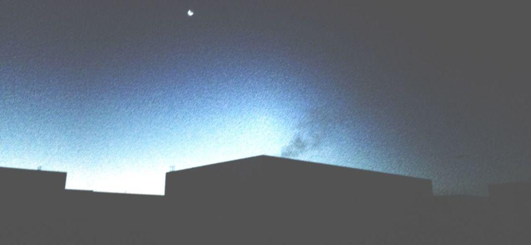 Hello World Sunrise Silhouette Minimalarchitecture
