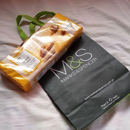 I bought myself my favorite comfort food! :D Custardcreams M &S Nofilter