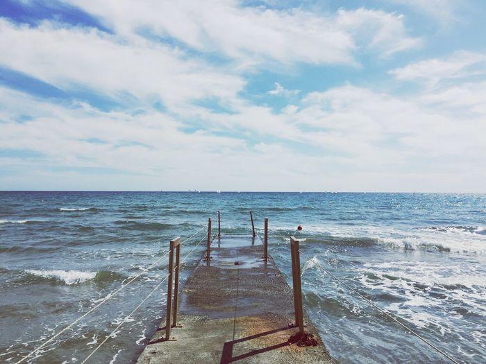 Diano Marina Seaside Seascape Sea And Sky Sea_collection Summertime Enjoying Life Enjoy The Summer