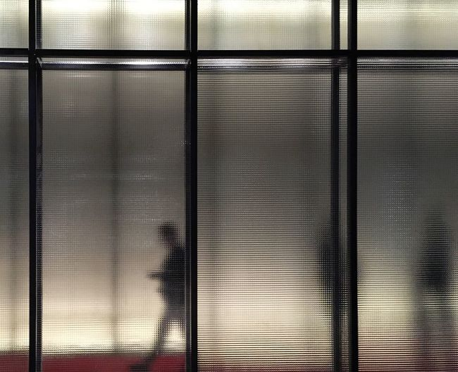 Blurred people in Milan Abstract Abstract Photography Art Is Everywhere Mix Yourself A Good Time Connected By Travel Corrugated Iron Frosted Glass Full Frame Geometric Shape Geometry Indoors  Metal People Photography Silhouette Silhouette_collection Silhouettes TCPM The City Light Urban Geometry Welcome To Black Window BYOPaper! Place Of Heart AI Now Visual Creativity The Street Photographer - 2018 EyeEm Awards Capture Tomorrow