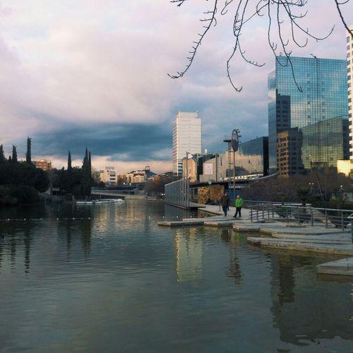 Sabadell Catalunya Lake Urbanlandscape