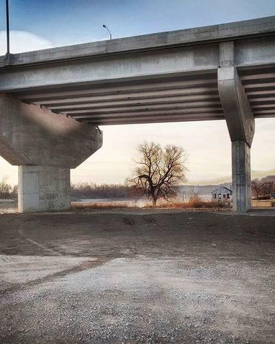 Under the bridge ...... Ks_pride Atchison Kansasphotos Kansasphotographer Wow_america_hdr Wow_america Ameliaearhart Missouririver