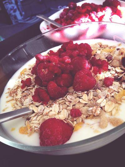 breakfast. Healthy Breakfast