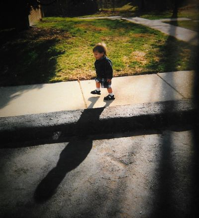 peopleandplacesCasual Clothing Day Full Length Leisure Activity Lifestyles Outdoors The Way Forward Thisweekoneyeem Film Film Photography Children Photography Children Playing EveningShadows