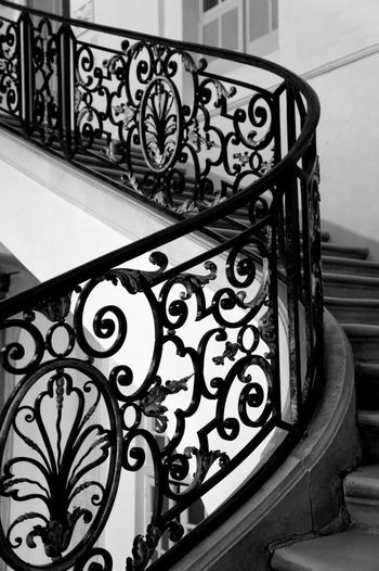 Paris Black And White Monochrome Blackandwhite Architecture_bw Musée Rodin, Paris Rodin Stairs Amazing Architecture