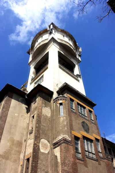 Neighborhood Map Colony Architecture Building Exterior Watertower Minicity Budapest Hungary