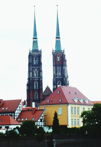 Ostrów Tumski and Cathedral in Wroclaw, Poland Wroclaw Cathedral Architecture