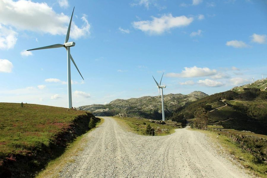 Windmill Rural Scene Wind Power Alternative Energy Environmental Conservation Fuel And Power Generation Renewable Energy Wind Turbine Nature Day No People Outdoors Sky Agriculture Technology