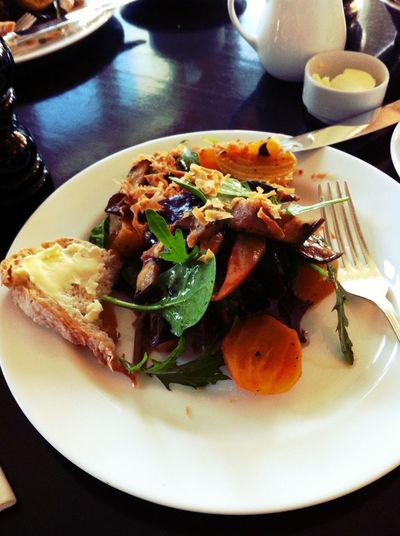 winter salad at Soho House Winter Salad