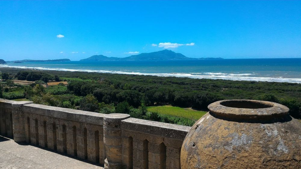 Clear Sky Outdoors Day Landscape No People Scenics Beauty In Nature Water Beach Nature Macchia Mediterranea Blue Sky Seaview Sea Sea And Sky Panoramic Photography Storytelling Acropolis Walls Southitaly Ancient Greek