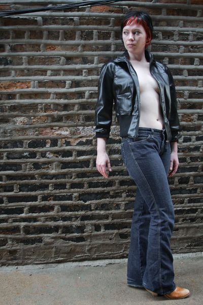 Ida, alley 2 Alley Boots Dirty Faded Dark Gritty Jeans Leather Urban City Noir Highlights Punk
