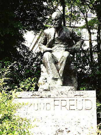 Hidden Away Freud Statue