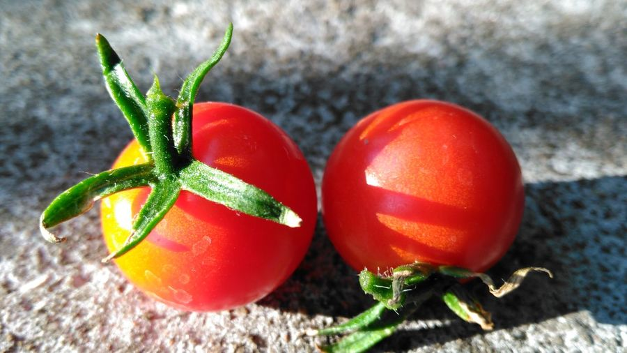 Cherry Tomatoes Tinny Tomatoes Red Fruit Things I See