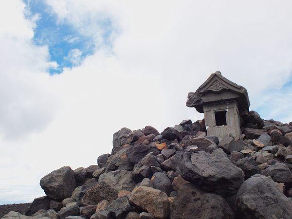 2017.07.02( 富士山 ) 小富士 にて