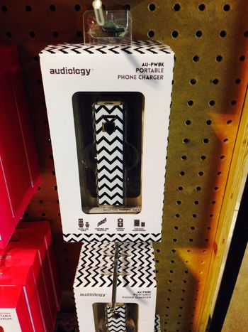 Audiology Portable Phone Charger Urbanoutfitters Berlin Stripes