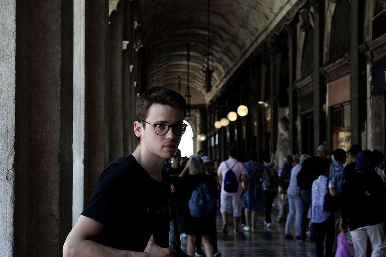 Venice, Italy Travel Traveling Venezia Portrait Eyeglasses  City Posing